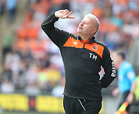 Blackpool manager Terry McPhillips <br /> <br /> Photographer Stephen White/CameraSport<br /> <br /> The EFL Sky Bet League One - Blackpool v Fleetwood Town - Monday 22nd April 2019 - Bloomfield Road - Blackpool<br /> <br /> World Copyright © 2019 CameraSport. All rights reserved. 43 Linden Ave. Countesthorpe. Leicester. England. LE8 5PG - Tel: +44 (0) 116 277 4147 - admin@camerasport.com - www.camerasport.com<br /> <br /> Photographer Stephen White/CameraSport<br /> <br /> The EFL Sky Bet Championship - Preston North End v Ipswich Town - Friday 19th April 2019 - Deepdale Stadium - Preston<br /> <br /> World Copyright © 2019 CameraSport. All rights reserved. 43 Linden Ave. Countesthorpe. Leicester. England. LE8 5PG - Tel: +44 (0) 116 277 4147 - admin@camerasport.com - www.camerasport.com