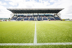 The Falkirk Stadium before the Falkirk v Hibernian game, the first Scottish Championship game of season 2016/17, played 6/8/2016.