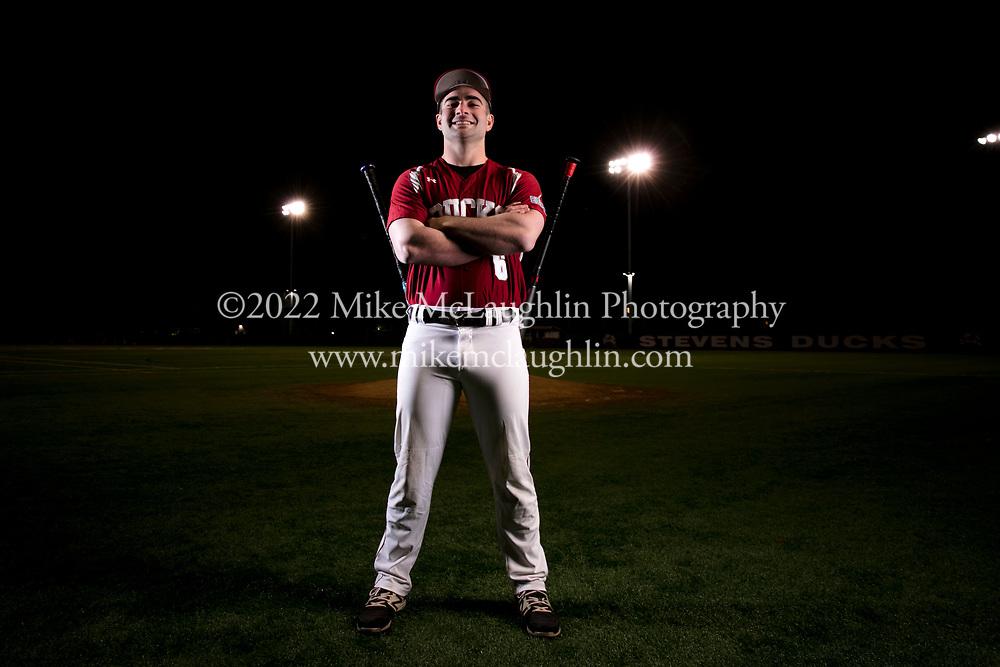 January 28, 2020 Hoboken, NJ<br /> Stevens Ducks baseball portraits.<br /> 2020 Mike McLaughlin<br /> https://mclaughlin.photoshelter.com/<br /> Mike McLaughlin