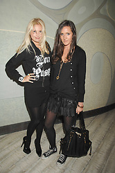 Left to right, Marissa Montgomery and Kate Bellm at the launch party for 'The End of Summer Ball' in Berkeley Square held at Nobu Berkeley, 15 Berkeley Street, London on 7th April 2008.<br /><br />NON EXCLUSIVE - WORLD RIGHTS