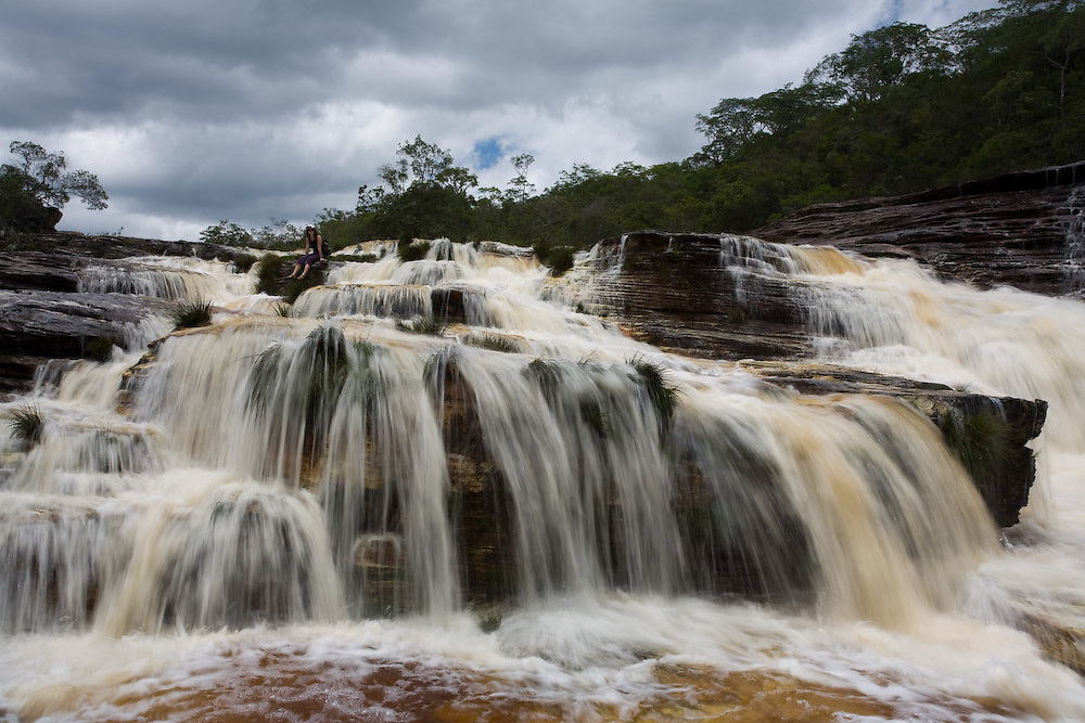 Sao Goncalo do Rio Preto_MG, Brasil...Cachoeira das Sempre-Vivas no Parque Estadual do Rio Preto...Cachoeira das Sempre-Vivas in Parque Estudadual do Rio Preto...Foto: LEO DRUMOND /  NITRO
