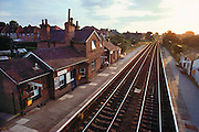 (1992) Narborough station, town where Lynda Mann and Dawn Ashworth resided; Lynda Mann was raped and murdered in 1983 forensic scientists took semen samples, but couldn't find a murderer. In 1986 Dawn Ashworth was murdered a similar way. Police were convinced that the same assailant had committed both murders, and the FSS recovered semen samples from Dawn's body that revealed her attacker had the same blood type as Lynda's murderer. Colin Pitchfork was arrested and his DNA profile was found to match with the semen from both murders. He was eventually sentenced to life imprisonment for the two murders in 1988.