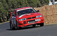 Simon KNOWLES & Margot KNOWLES .Mitsubishi  Lancer Evo VI.Motorsport-Rally/2009 Forest Rally .Shakedown .3rd of April 2009.Busselton Foreshore, Busselton, Western Australia.(C) Joel Strickland Photographics