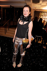 KATIE GRAND at the 2008 British Fashion Awards held at the Lawrence Hall, Westminster, London on 25th November 2008.