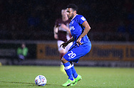Nathan Thompson of Portsmouth in action. EFL Skybet Football League one match, Northampton Town v Portsmouth at the Sixfields Stadium in Northampton on Tuesday 12th September 2017. <br /> pic by Bradley Collyer, Andrew Orchard sports photography.