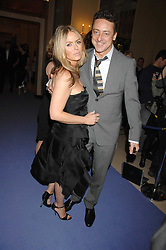 PATSY KENSIT and JEREMY HEALY at the 10th Anniversary Party of the Lavender Trust, Breast Cancer charity held at Claridge's, Brook Street, London on 1st May 2008.<br /><br />NON EXCLUSIVE - WORLD RIGHTS