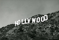 1972 Hollywood sign