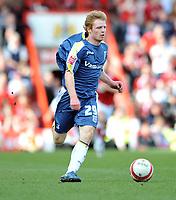 Chris Burke of Cardiff City<br /> Bristol City vs Cardiff City<br /> The Championship, Ashton Gate, Bristol<br /> 15/03/2009. Credit Colorsport/Dan Rowley