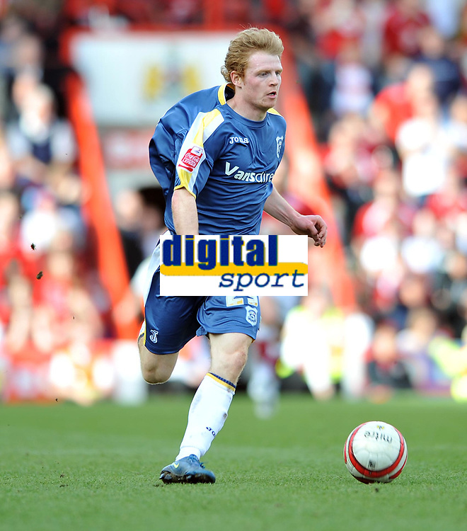 Chris Burke of Cardiff City<br /> Bristol City vs Cardiff City<br /> The Championship, Ashton Gate, Bristol<br /> 15/03/2009. Credit Colorsport/Dan Rowley