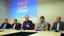 José Fortunati durante ciclo de Debates Porto Alegre do Futuro – Propostas, Idéias, Metas e Rumos. FOTO: Jefferson Bernardes/Preview.com