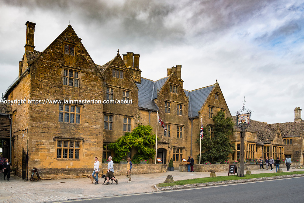 The Lygon Arms Hotel in Broadway, The Cotswolds, Worcestershire, England, united Kingdom