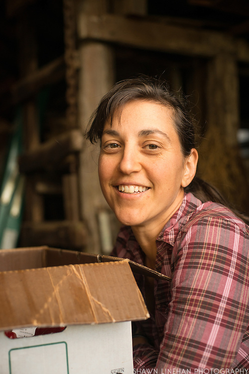 Sarah Kleeger of Adaptive Seeds in Sweet Home, Oregon.