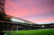 General view of the KC Stadium just before sunset - Barclays Premier League - Hull City vs Tottenham - Kingston Communications  Stadium - Hull - England - 23rd November 2014  - Picture Simon Bellis/Sportimage
