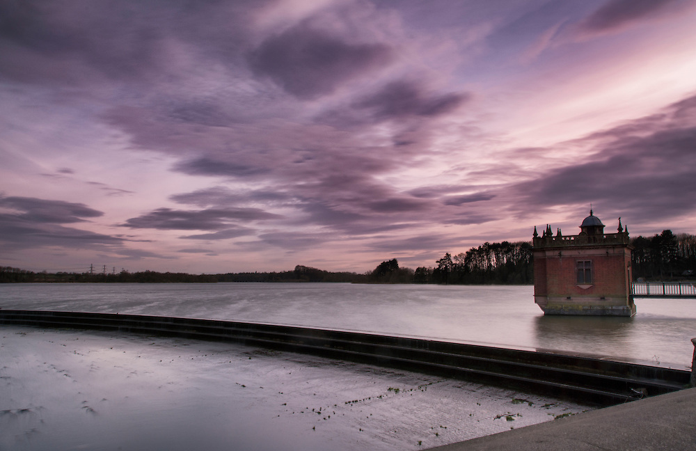 Late afternoon at Swithland Reservoir, Leicestershire.