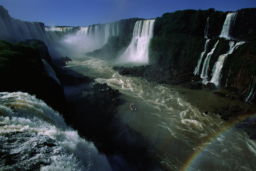 Iguazu Falls<br />Border of ARGENTINA & BRAZIL. South America