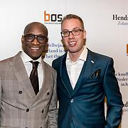 NLD/Amsterdam/20191211 - Hendrik Groen-voorstelling in premiere, Jerrel Houtsnee en ........