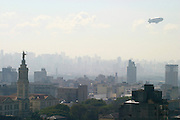 Sao Paulo_SP, Brasil...Vista panoramica da regiao central de Sao Paulo...The panoramic view of central region of Sao Paulo. ..Foto: LEO DRUMOND / NITRO