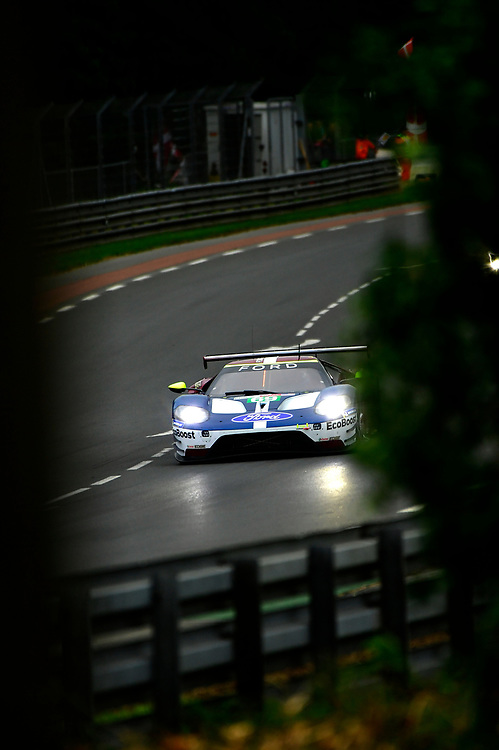 #69 Ford Chip Ganassi Racing Ford GT: Ryan Briscoe, Richard Westbrook, Scott Dixon<br /> Thursday 14 June 2018<br /> 24 Hours of Le Mans<br /> 2018 24 Hours of Le Mans<br /> Circuit de la Sarthe  FR<br /> World Copyright: Scott R LePage