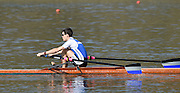 Caversham  Great Britain.<br /> John HALE.<br /> 2016 GBR Rowing Team Olympic Trials GBR Rowing Training Centre, Nr Reading  England.<br /> <br /> Tuesday  22/03/2016 <br /> <br /> [Mandatory Credit; Peter Spurrier/Intersport-images]