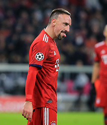 27.11.2018, Champions League  Saison 2018/ 2019, . Bayern vs Benfica Lissabon, Allianz Arena, Muenchen, Sport, im Bild:..Franck Ribery (FCB)..DFL REGULATIONS PROHIBIT ANY USE OF PHOTOGRAPHS AS IMAGE SEQUENCES AND / OR QUASI VIDEO...Copyright: Philippe Ruiz..Tel: 089 745 82 22.Handy: 0177 29 39 408.e-Mail: philippe_ruiz@gmx.de. (Credit Image: © Philippe Ruiz/Xinhua via ZUMA Wire)