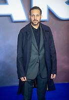 Dynamo  at the 'Star Wars: The Rise of Skywalker' film premiere, London, UK - 18 Dec 2019