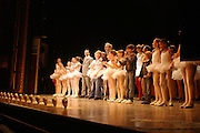 Sir Elton John and cast. Billy Elliot- The Musical opening night at the Victoria palace theatre and party afterwards at Pacha, London. 12 May 2005. ONE TIME USE ONLY - DO NOT ARCHIVE  © Copyright Photograph by Dafydd Jones 66 Stockwell Park Rd. London SW9 0DA Tel 020 7733 0108 www.dafjones.com