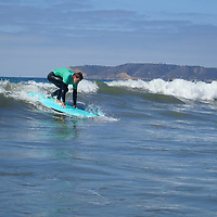 Surf and Ocean Therapy with the Jimmy Milller Memorial Foundation in Coronado, California.