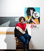 """Irene Rosiello, 19 anni, studentessa. Circolo culturale e sede di Liberi e Uguali """"Aurora"""", Collegno, TO."""