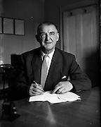 20/07/1962<br /> 07/20/1962<br /> 20 July 1962<br /> Mr C.W. Kuechenmeister, Managing Director, W. Kay Ltd., 30-32 Londonbridge Road, Sandymount, Dublin.