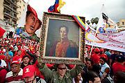 Caracas, 05 de Janeiro de 2010..Passeata nas ruas da cidade..Foto: Leo Drumond / NITRO