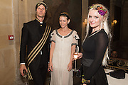 IAN HUNDLEY; JAMIE PEARLMAN; GRACE CHATTO; Bella Howard 30th birthday, Castle Howard, Dress code: Flower Fairies and Prince Charming, 3 September 2016