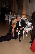 Mr. and Mrs. (Martha) Dino de Laurentiis, The  Thirteenth Annual Crillon Haute Couture Ball. Paris,  29 November 2003. © Copyright Photograph by Dafydd Jones 66 Stockwell Park Rd. London SW9 0DA Tel 020 7733 0108 www.dafjones.com