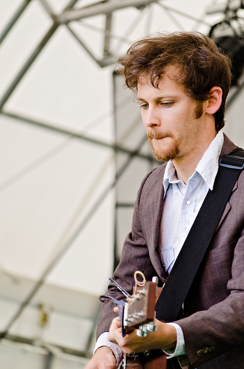 David Wax performing at the 2011 Appel Farm Arts & Music Festival in Elmer, NJ