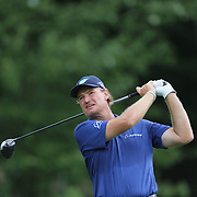 Ernie Els in action during the fourth round of theThe Barclays Golf Tournament at The Ridgewood Country Club, Paramus, New Jersey, USA. 24th August 2014. Photo Tim Clayton