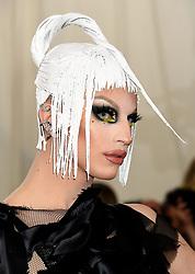 Aquaria attending the Metropolitan Museum of Art Costume Institute Benefit Gala 2019 in New York, USA.