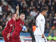 Paris Saint-Germain v Liverpool 281118