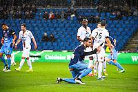 Deception Mickael LE BIHAN  - 12.12.2014 - Le Havre / Laval - 17eme journee de Ligue 2 <br /> Photo : Fred Porcu / Icon Sport