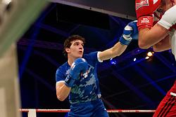17-11-2019 NED: World Port Boxing Netherlands - Kazakhstan, Rotterdam<br /> 3rd World Port Boxing in Excelsior Stadion Rotterdam / Sander Tol (rd) in action against Joost Dorhout Mees