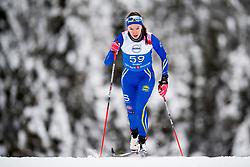 January 11, 2018 - GSbu, NORWAY - 180111 Ida Mogstad competes in the women's sprint classic technique qualification during the Norwegian Championship on January 11, 2018 in GÅ'sbu..Photo: Jon Olav Nesvold / BILDBYRN / kod JE / 160126 (Credit Image: © Jon Olav Nesvold/Bildbyran via ZUMA Wire)
