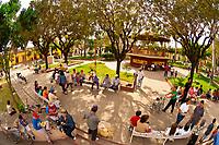 Town square, Concordia (near Mazatlan), Sinaloa, Mexico