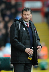Bristol City manager, Steve Cotterill - Photo mandatory by-line: Dougie Allward/JMP - Mobile: 07966 386802 - 25/01/2015 - SPORT - Football - Bristol - Ashton Gate - Bristol City v West Ham United - FA Cup Fourth Round
