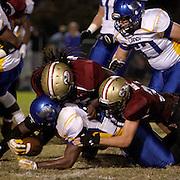 Ashley High School hosted Laney High School in football Friday November 1, 2013. (Jason A. Frizzelle)