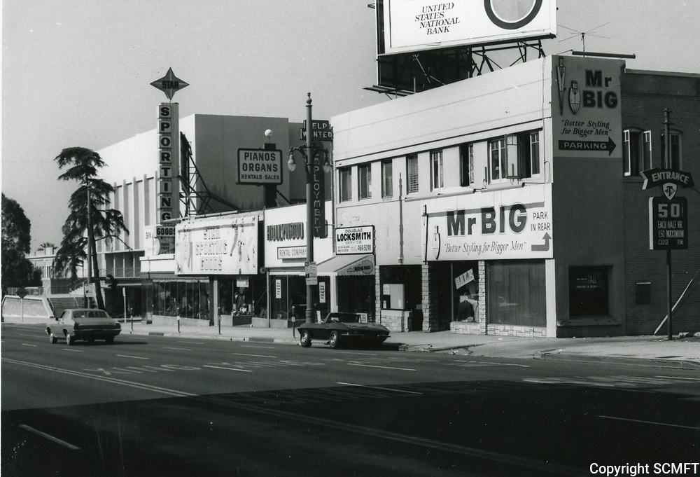 1972 Highland Ave. just south of Hollywood Blvd.