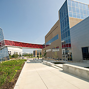 Modern gymnasium complex at the Ohio State University