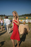 Kate Melhuish. Veuve Clicquot Gold Cup Final at Cowdray Park. Midhurst. 17 July 2005. ONE TIME USE ONLY - DO NOT ARCHIVE  © Copyright Photograph by Dafydd Jones 66 Stockwell Park Rd. London SW9 0DA Tel 020 7733 0108 www.dafjones.com