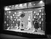 20/12/1956<br /> 12/20/1956<br /> 20 December 1956<br /> <br /> Modern Display Artists Special - Sunbeam Nylons Window on Stephen's Green