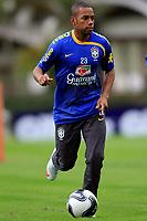 20090603: TERESOPOLIS, BRAZIL - Brazil National Team preparing match against Uruguay. In picture: Robinho. PHOTO: CITYFILES