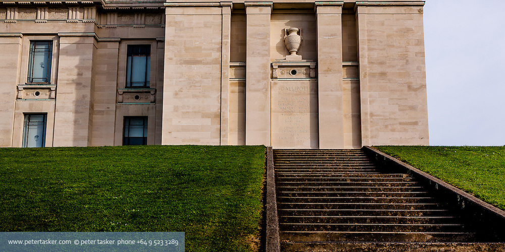 Museum front side and steps
