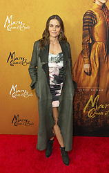 December 4, 2018 - New York, New York, United States - Tara Westwood attends the New York premiere of 'Mary Queen Of Scots' at Paris Theater  (Credit Image: © Lev Radin/Pacific Press via ZUMA Wire)
