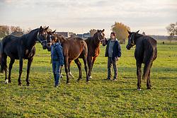 De Craene Tom, De Craene Ines, BEL<br /> Stal den Bisschop - Melle 2018<br /> © Hippo Foto - Dirk Caremans<br /> 09/11/2018